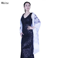 Wedding / Party/Evening Polyester Shawls / Scarves Sleeveless Wedding  Wraps