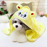 Towel Wipes Pet Grooming Supplies Portable Cosplay Yellow Green Blue Pink