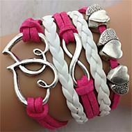 Armbanden Lederen armbanden Others Uniek ontwerp Modieus Feest Sieraden Geschenk1 stuks