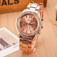 Women's Fashion Geneva Set Auger Alloy  Quartz Watch(Assorted Colors) Cool Watches Unique Watches
