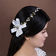 Women's Satin/Rhinestone/Imitation Pearl/Fabric/Net Headpiece - Wedding/Special Occasion Headbands 1 Piece