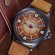 Brand  Men'S Watch Men Date Clock Men Casual Quartz Watch Leather Wrist Sports Watches Wrist Watch Cool Watch Unique Watch Fashion Watch