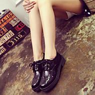 Women's Shoes Korean Round Toe Flat Heel Comfort/Closed Toe Oxfords Outdoor/Dress