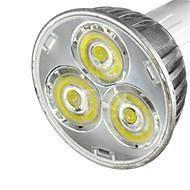 3w mr16 250-300lm warm / koel wit licht geleid spotlichten (12v) 1pcs