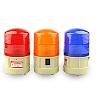 DearRoad Power Car School Bus Magnetic Warning Flash Beacon Strobe Emergency Light Red/Amber/Blue Install the Battery