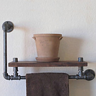 Industrial Style Shelf Bookcase Shelf Industrial Pipe Plumbing Retro to do the Old Rack Shelf Towel Rack-Z39