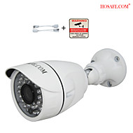 HOSAFE 1MB6 1.0MP 720P HD Outdoor IP Camera w/ 36-IR-LED /ONVIF /Motion Detection /Free Reward POE Cable