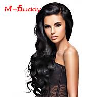 pelucas del cordón del pelo humano para las mujeres brasileñas de color de pelo wavyhuman pelo virginal (# 1 # 1b # 2 # 4)