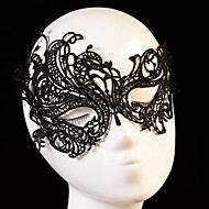 1pcs Sexy Black Lace Venetian Mask Masquerade Ball Prom Halloween Costume Fancy Dress