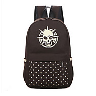 Unisex Canvas Baguette Backpack - Purple/Green/Brown/Red/Black