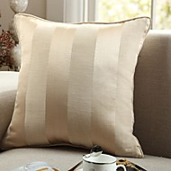 Modern Cotton Square Stripe Pillow Cover