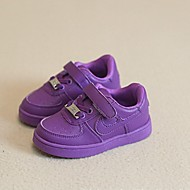 Children's Shoes Casual Fur/Rubber Fashion Sneakers Yellow/Pink/Purple/White