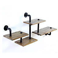 LOFT Innovative Design DIY Book Shelves Retro Style Old Industrial Pipes Shelf Bookcase Shelves-Z29