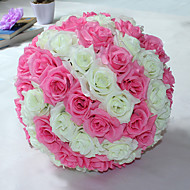 Künstliche Blumen ( Rot / Rosa / Helles Himmelblau / Lila , Kunststoff ) - Nicht personalisiert