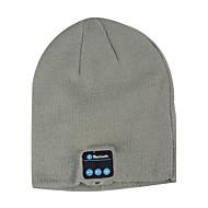 Unisex Knitwear Beanie Adult Bluetooth Hat Fabric Bluetooth Headphone Speaker Hat  Size:26X20.5X3CM