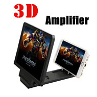 3d ny forstørret skjerm mobiltelefon video-frekvens forsterkere / telefon dekselet