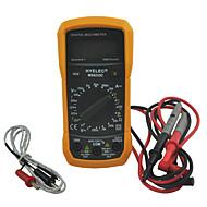 hyelec ms8233c multifunkciós mini digitális multiméter w / hőmérsékleten végzett vizsgálat& háttérvilágítás