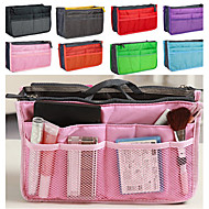 Women's Fashion Casual Multifunctional Mesh Cosmetic Makeup Bag Storage Tote Organizer(8 Color Choose)