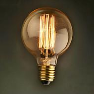 E27 40W g80 ravna žica Restoran Hotel loptu Edison retro ukrasne žarulju
