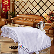 2015 nya 100% siden täcke sommar siden täcke filt randig design vit Hjälparen sängkläder set