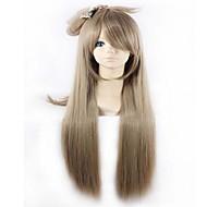 søt høy kvalitet lys brun cosplay sythetic parykker stil