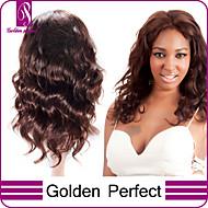14inch-24inch 100% de Remy do brasileiro virgem do cabelo super humano de corpo inteiro perucas brasileiro virgem peruca de cabelo humano