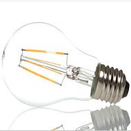 A60 4W 400lm 360 stupnjeva toplo / hladno bijela boja Edison svjetlosti sa žarnom niti E27 LED svjetiljke sa žarnom niti (ac220-240v)