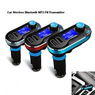 12v ~ 24v draadloze auto mp3-speler bluetooth fm-zender carkit met microfoon, met de hand free bellen, usb sd-TF-kaart