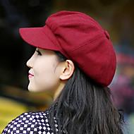 Women Fashion Warm Octagonal Cap