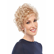 Capless Top Grade Synthetic Short Wavy Synthetic Hair Wigs For Womens