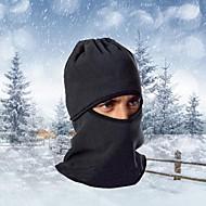 Ski Balaclava Hat Balaclava Bike Breathable / Thermal / Warm / Windproof / Dust Proof Women's / Men's Black Fleece