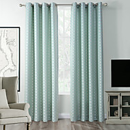 High Quality Zac Collection Classic Diamond Soft Handfeel Window Curtain Drape One Panel