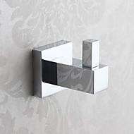וו תליה לחלוק / גאדג'ט לאמבטיה כרום התקנה על הקיר 100mm*75mm*75mm פליז מודרני