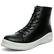 Men's Boots Spring / Summer / Fall / Winter Work & Safety PU Outdoor / Athletic / Casual Flat Heel Lace-up
