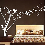 Botanical / Fashion Wall Stickers Plane Wall Stickers , PVC 120cm*190cm