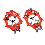 18 Stainless Steel Gear Bump Outdoor Winter Snow Shoes, Mountaineering Shoes Crampons Set And Crampons AT8606