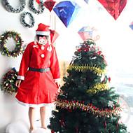 3 ב 1 תחפושות חג המולד עבור נשים פנטסיות שמלת אנימה מתגעגעת תלבושות סנטה קלאוס קוספליי שמלות צד הנשי