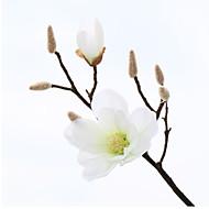 PU Magnolia Flores artificiais