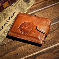 Formal / Casual / Outdoor / Office & Career / Shopping-Wallet / Card & ID Holder / Coin Purse-Cowhide-Men