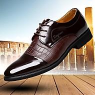 옥스퍼드 남자 신발 사무실 & 커리어 / 캐쥬얼 / 파티/이브닝 가죽 블랙 / 브라운