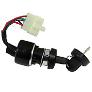 5 pin καλώδιο ανάφλεξης διακόπτη με κλειδί για utv go kart 250cc ATV 150