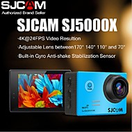 originale sjcam marchio sj5000x wifi ultra 4k 24fps sport giroscopio dv 2.0 lcd ntk96660 immersioni 30m macchina fotografica di azione