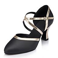 Sapatos de Dança ( Preto ) - Mulheres - Customizáveis - Latim