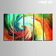 Fantazie Na plátně Pět panelů Připraveno k Pověste , Vertikální