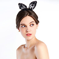 Women's Rubber/Fabric Headpiece - Casual/Outdoor Lace Dots Bow Headbands