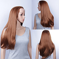 30inch Fashionable Cosplay Party Wig Long  Silk Straight  Lace Front Quality Synthetic Wigs