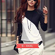 Ronde hals - Katoen / Overige Vrouwen - T-shirt - Lange mouw