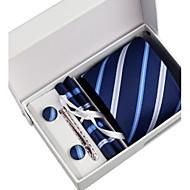 Men's Business Tie 5 Pieces a Set with Box(8CM)