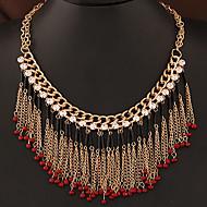 European Style Fashion Wild Bohemian Tassel Ethnic Necklace