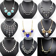 Sales Promotion 10 Style Available Women's Golden/silver  Necklace for Anniversary / Wedding